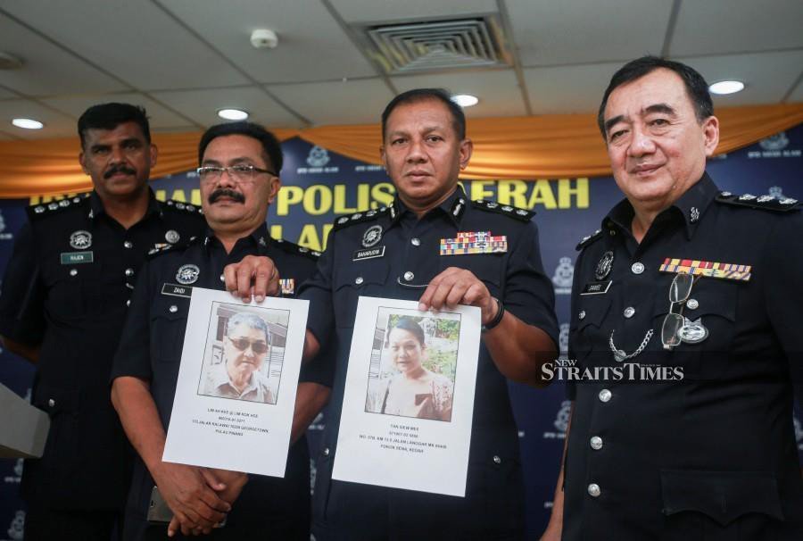 Cops find another bag with body as search for murdered woman's husband takes twist
