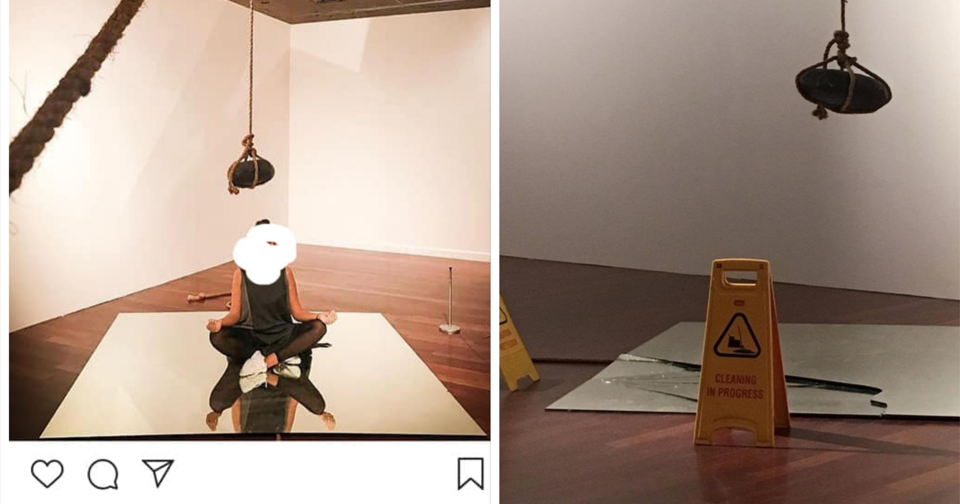 Instagrammers in M'sia criticised for defiling gallery art during photo-taking