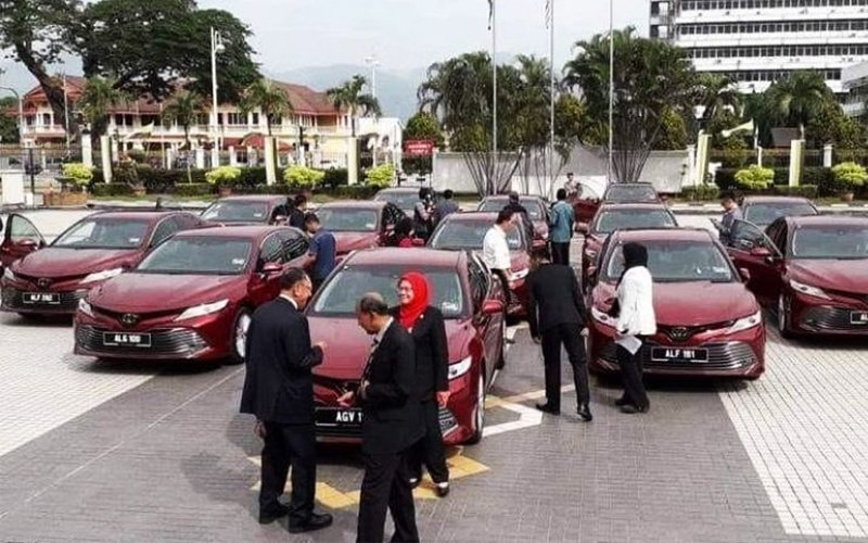 We didn't lie, we had inaccurate info on 16 Toyota Camry cars for excos, says MB
