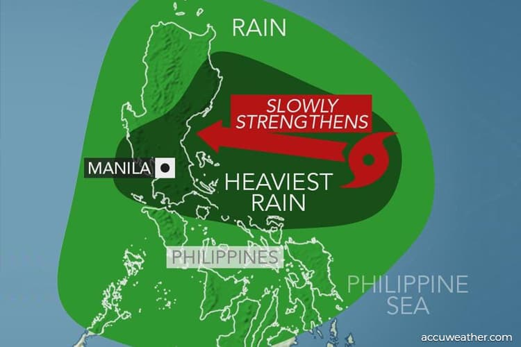 Weatherman warning over tropical storm Podul
