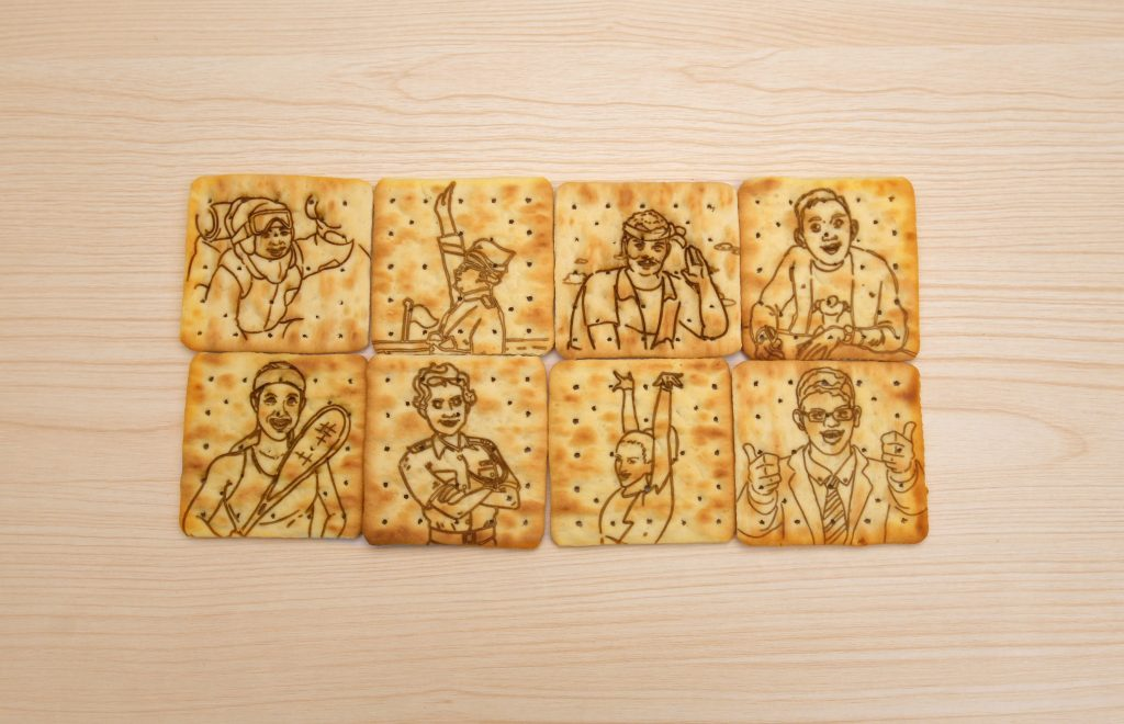 Jacob's engraves iconic Malaysian heroes on its crackers for Independence Day campaign