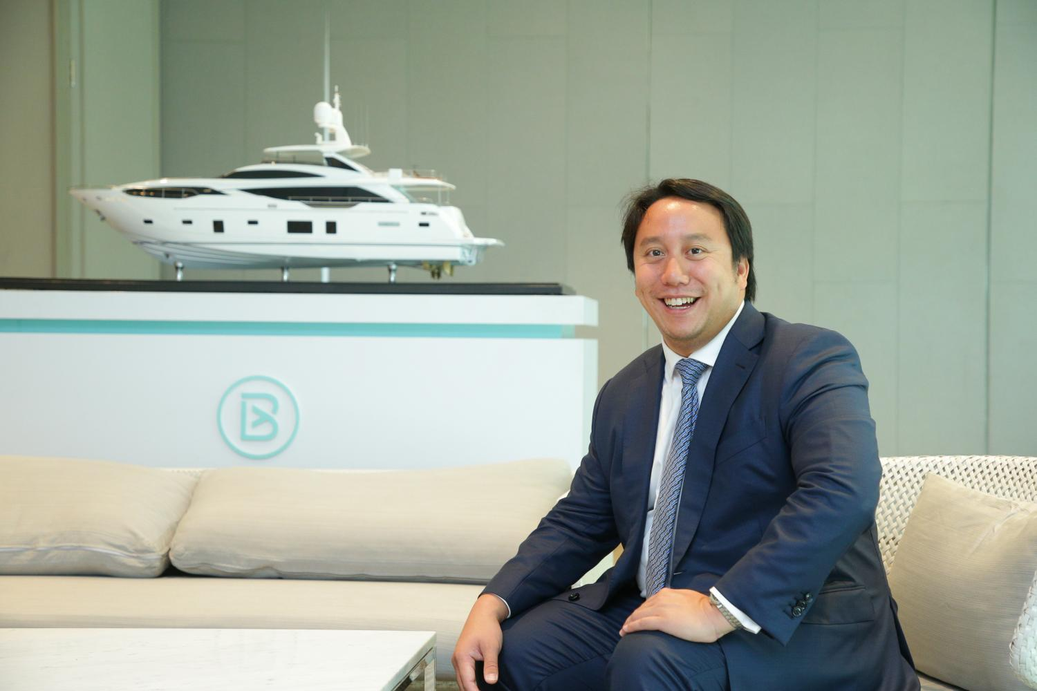 BLY sets sail with UK's Burgess