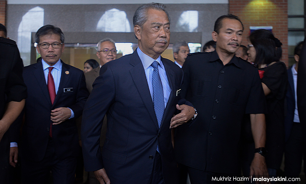 Context is important - Muhyiddin on report against Dr M using 'pariah' term