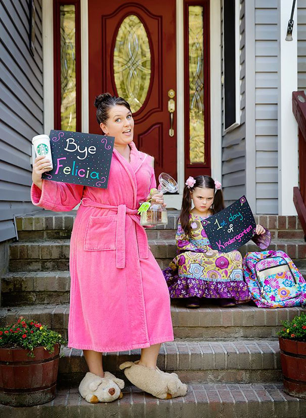 老娘解脱拉!她兴奋晒照「庆祝孩子开学」爆红全球  家长纷纷跟进「Po出更勐力作」齐喊:开学万岁!