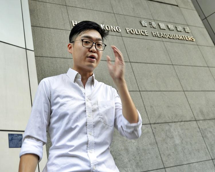 【逃犯条例】涉参与暴动及袭警 陈浩天赴日本前机场被捕
