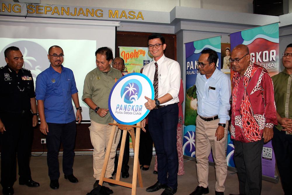 Perak launches new logo for Pangkor Island