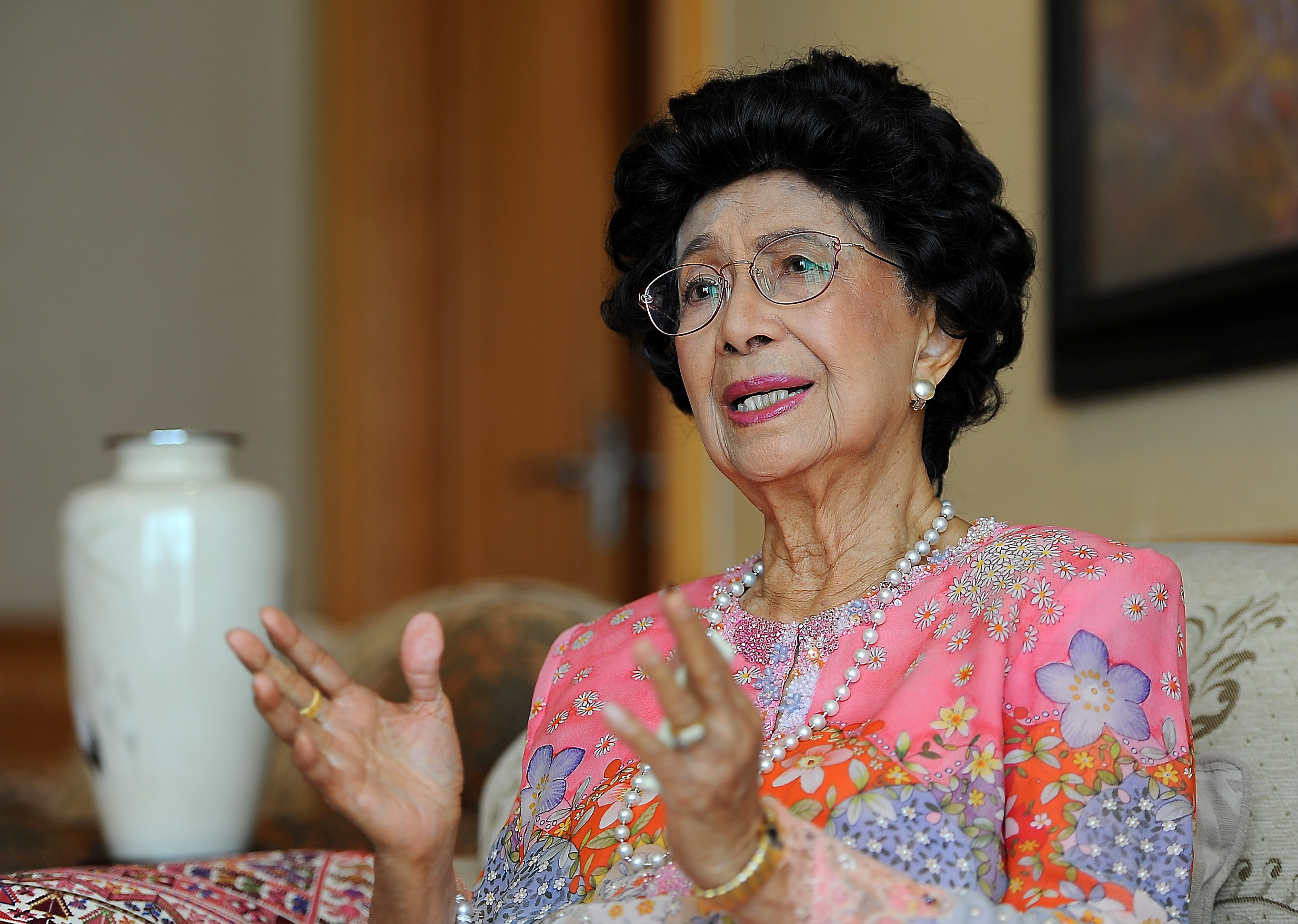 Dr Siti Hasmah discharged from hospital