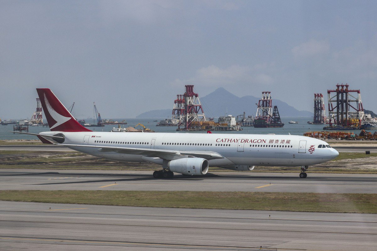 Third Cathay Pacific Group oxygen tank found emptied before take-off from Hong Kong airport