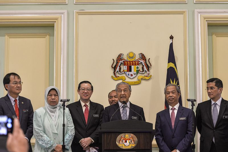 Report: Dr M, Muhyiddin advised Cabinet to give police space for LTTE probe