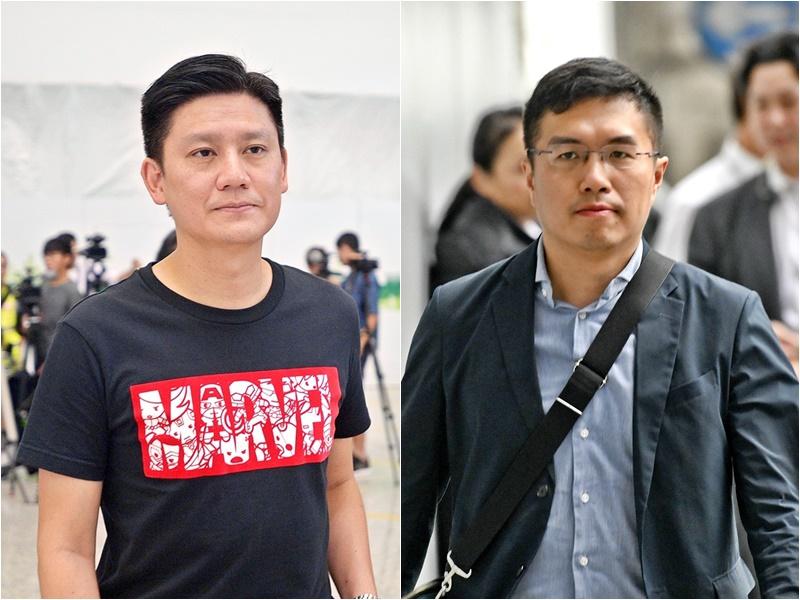 【逃犯条例】立法会议员谭文豪区诺轩先后被捕 涉阻差办公
