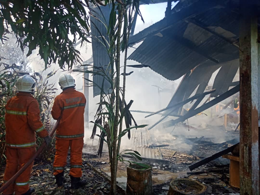 Agriculture Dept storehouse razed by fire