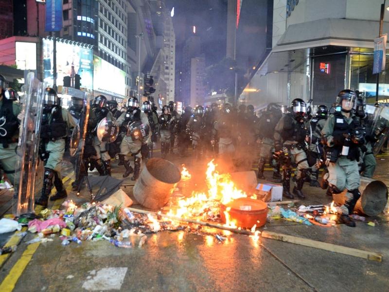 【逃犯条例】中央政法委:示威者採恐怖主义手法 暗示将扩大执法