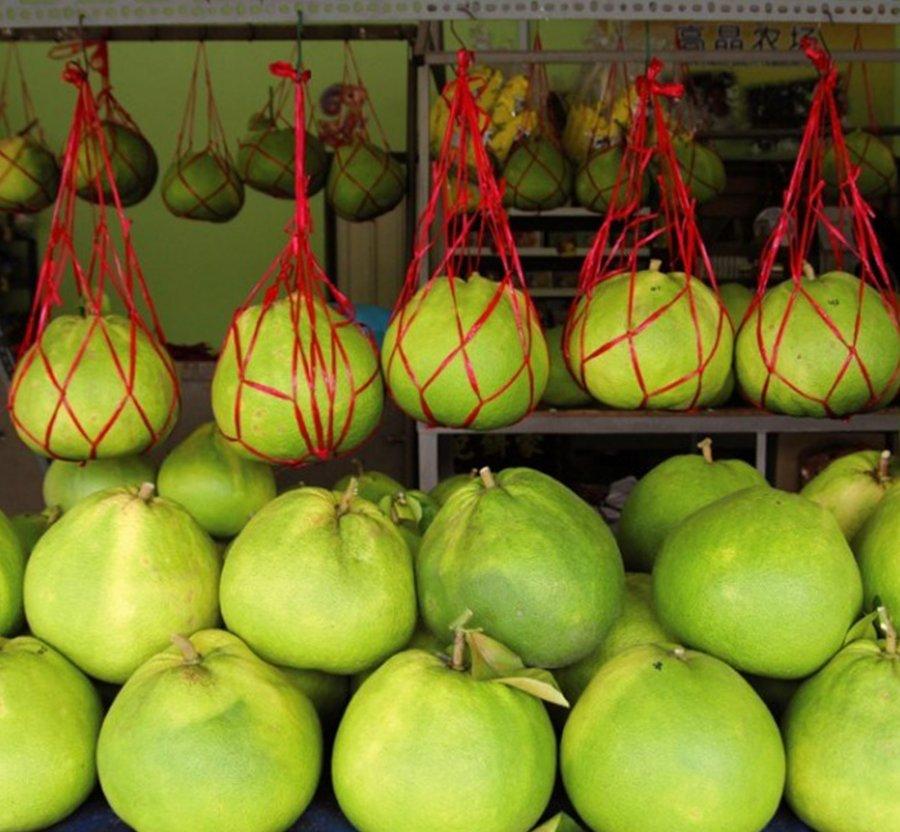 柚子丰收价平稳 中秋应节供应足