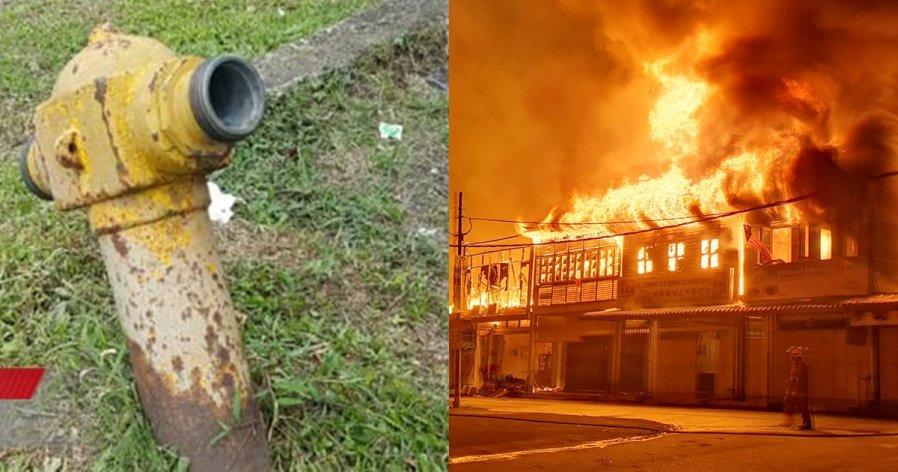 【林明火灾2死】消防栓紧要关头竟没水