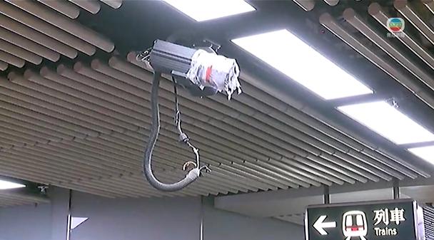 【逃犯条例】示威者击碎控制室玻璃 警进入旺角站