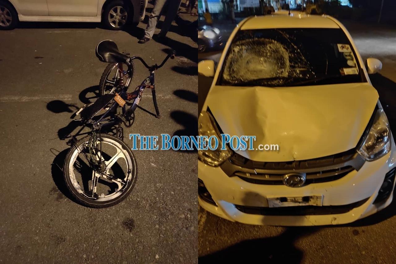 Boy succumbs to injuries after being knocked down by car at Jalan Kpg Sindang in Samarahan