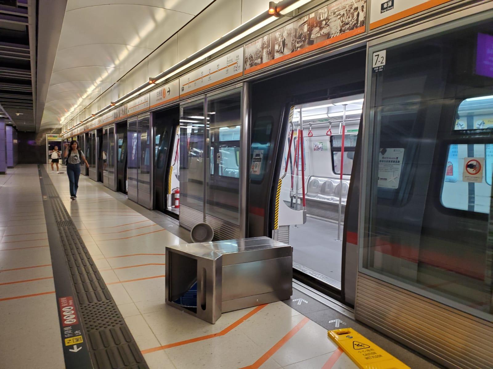 【逃犯条例】港铁今日12个车站被破坏 部分车站明天或暂停服务