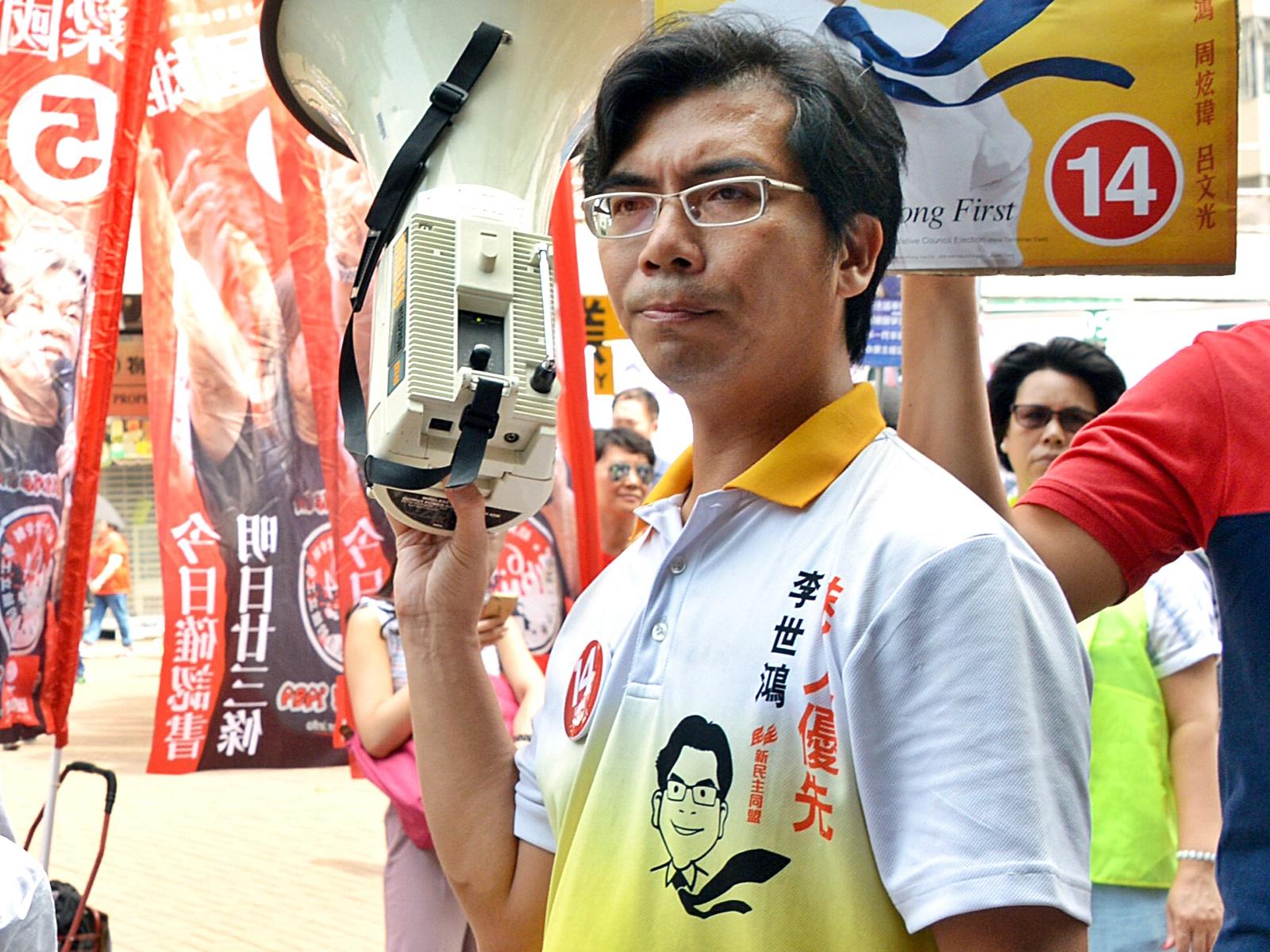 【逃犯条例】沙田区议员李世鸿被捕 警驱散示威者