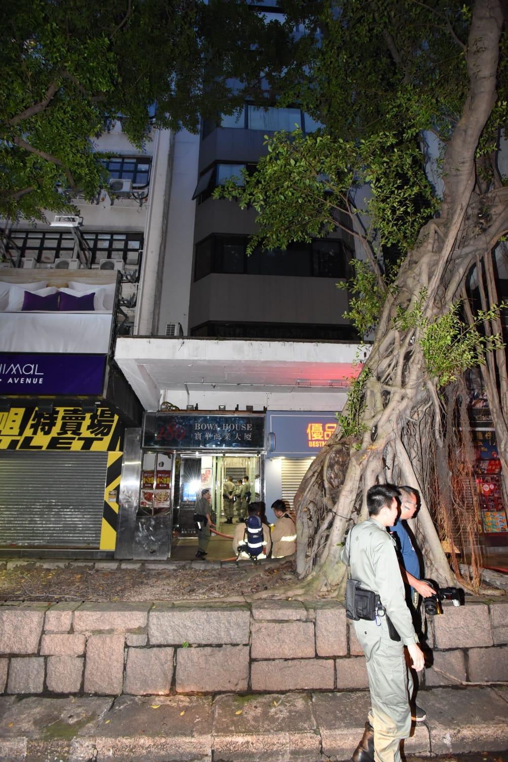 尖沙嘴寿司店疑漏煤气 约20人自行疏散
