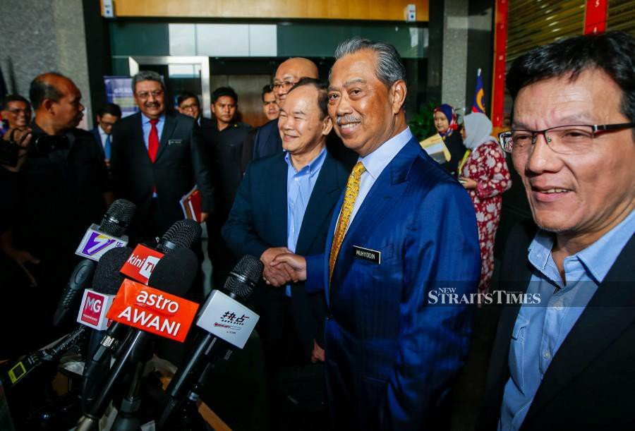 Muhyiddin to consider Johor Dong Zong's appeal against deregistration