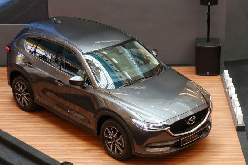 Check out the all-new Mazda CX-5 at Sunway Pyramid this week