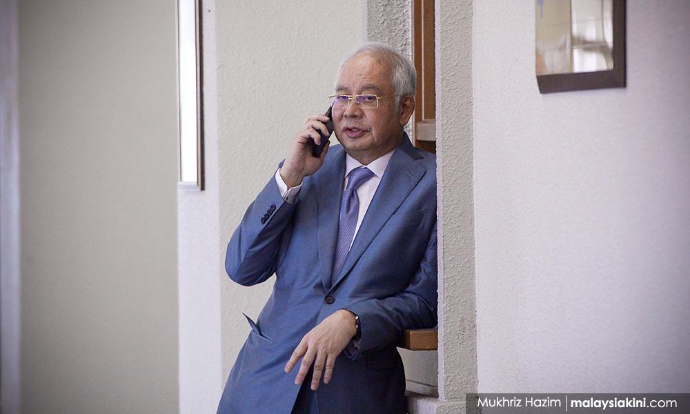 Najib still on medical leave, 1MDB trial to resume on Tuesday