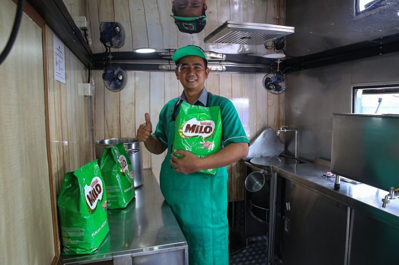 A tale of two 'Abang Milo' who became in-laws and what it takes to do the job