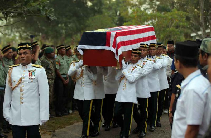 Malaysian Armed Forces classifies Major Zahir's death as training accident