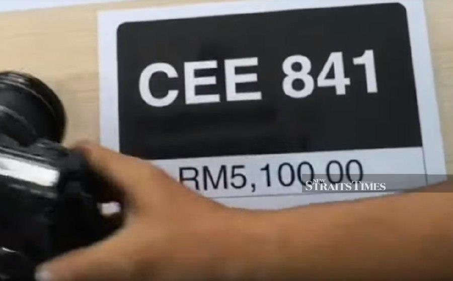 CEE841 goes for RM5,100