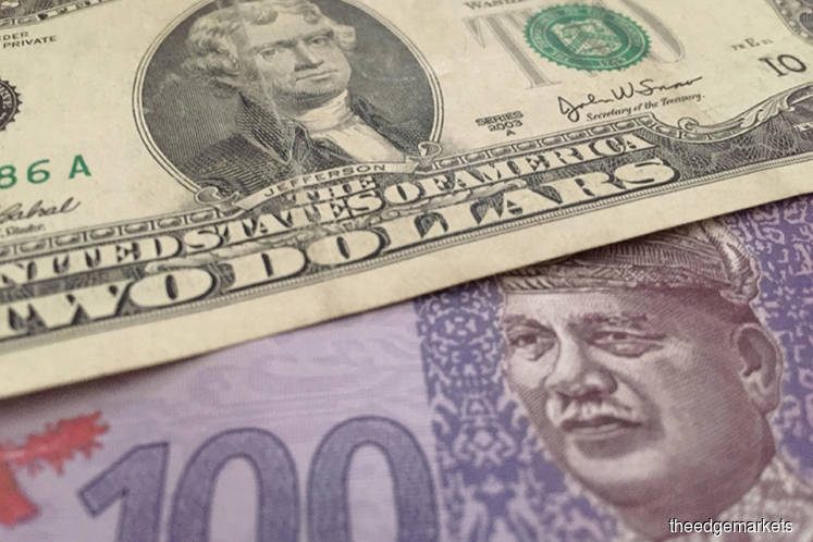 Ringgit weakens to nearly three-year low