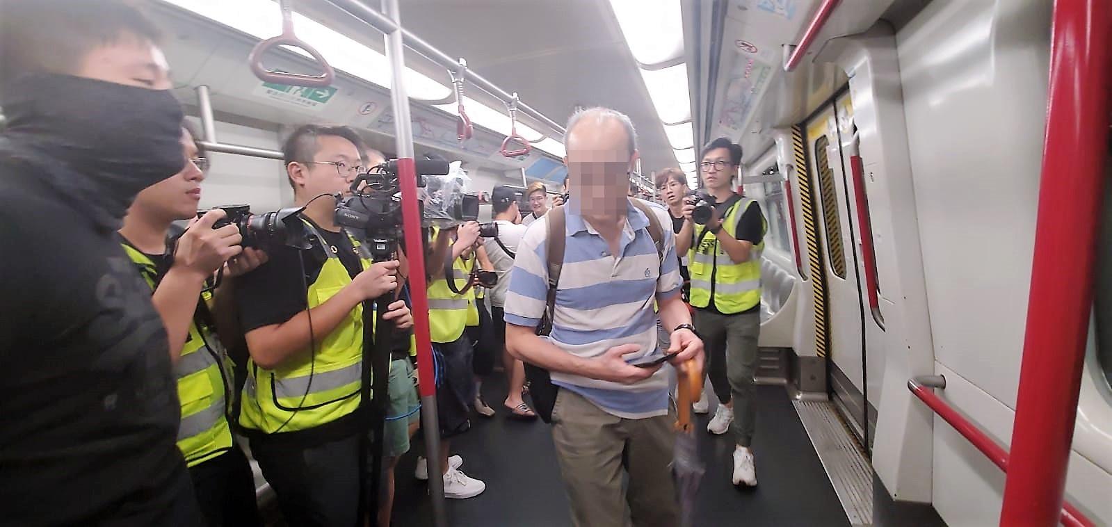 【修例风波】休班职员宝琳站遇袭受伤 港铁强烈谴责