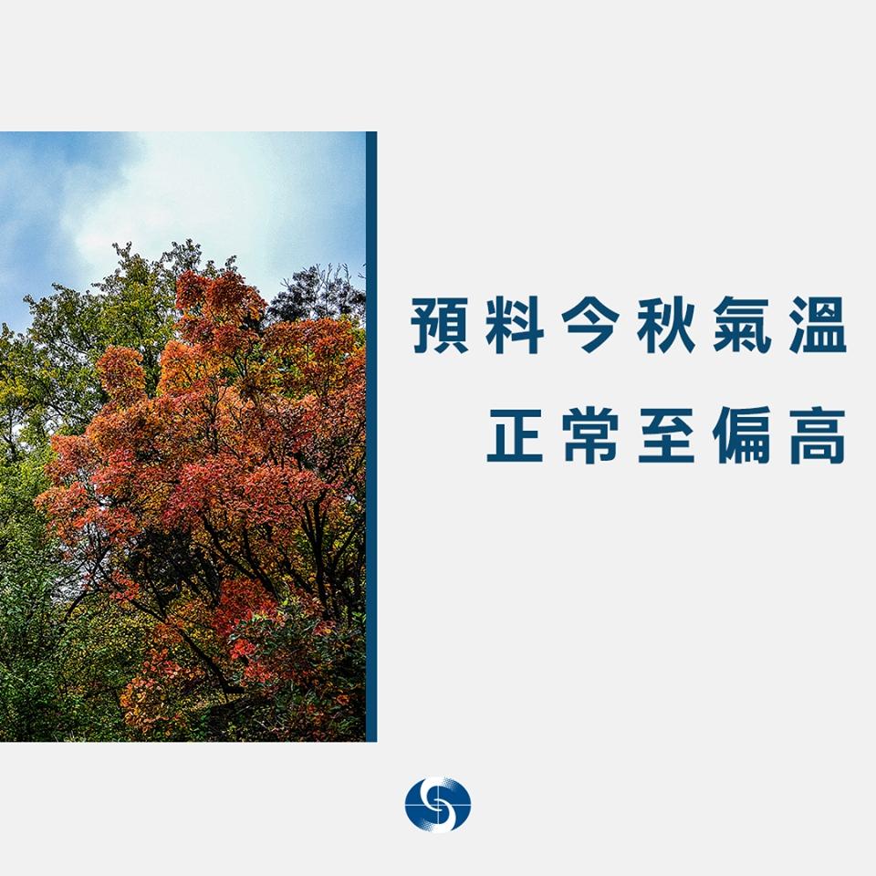 天文台料今年秋季偏暖少雨