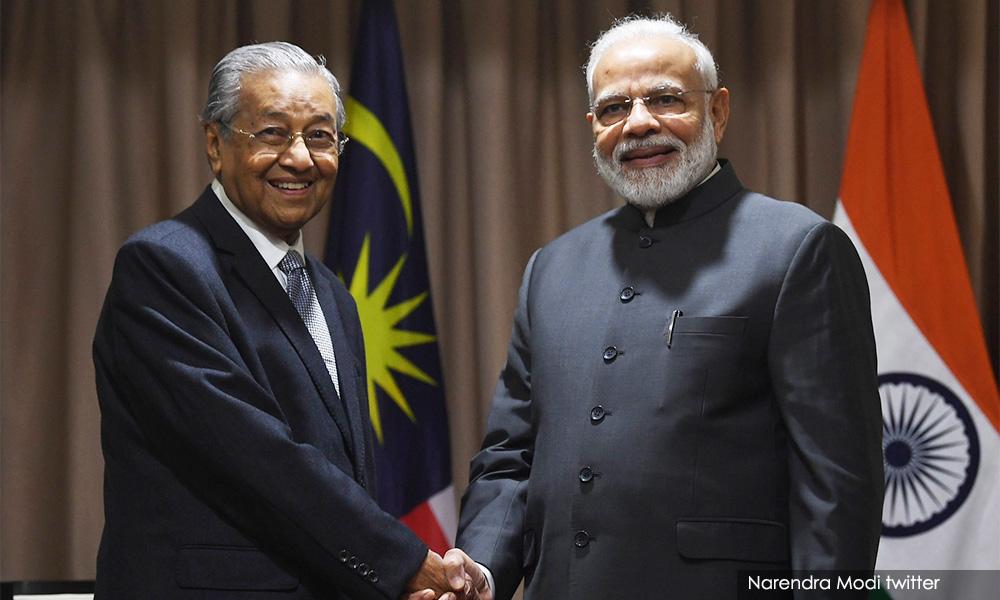 否认媒体报道,马哈迪指莫迪未要求遣返扎基