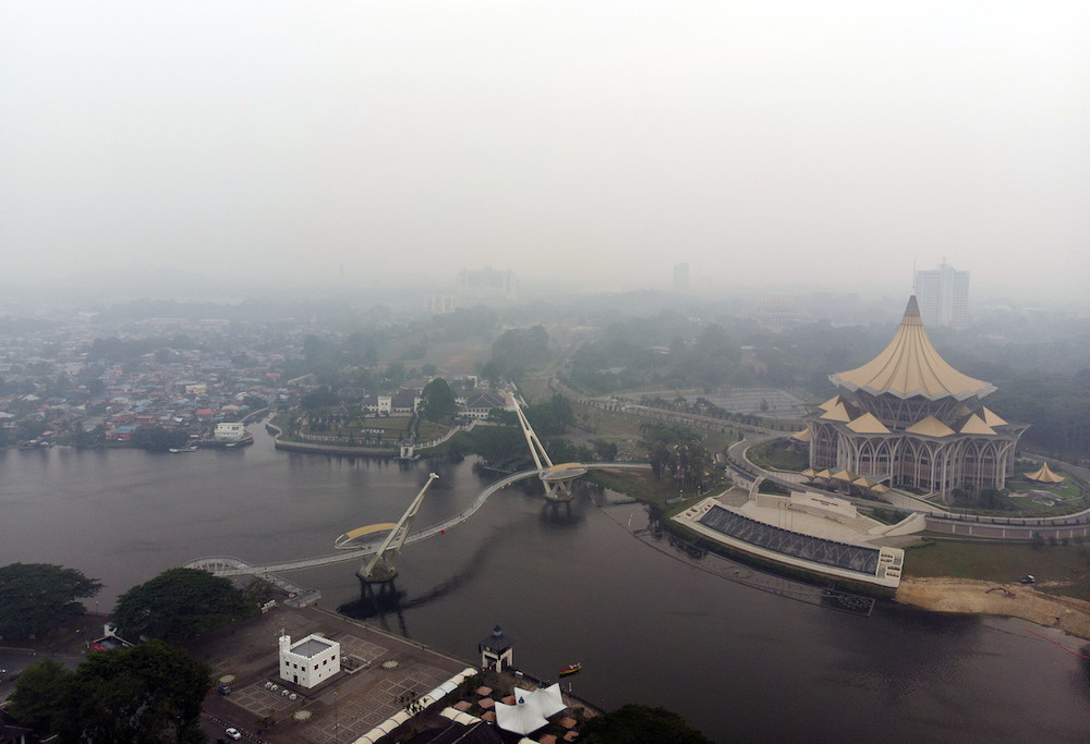 Malaysia complains of haze from Indonesia as forest fires flare