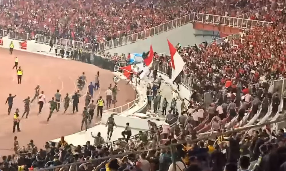 Indonesian captain: Crowd trouble 'more painful' than football defeat