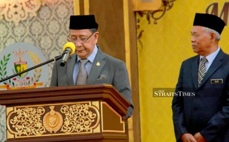Kedah Sultan expresses condolences to Major Mohd Zahir's family