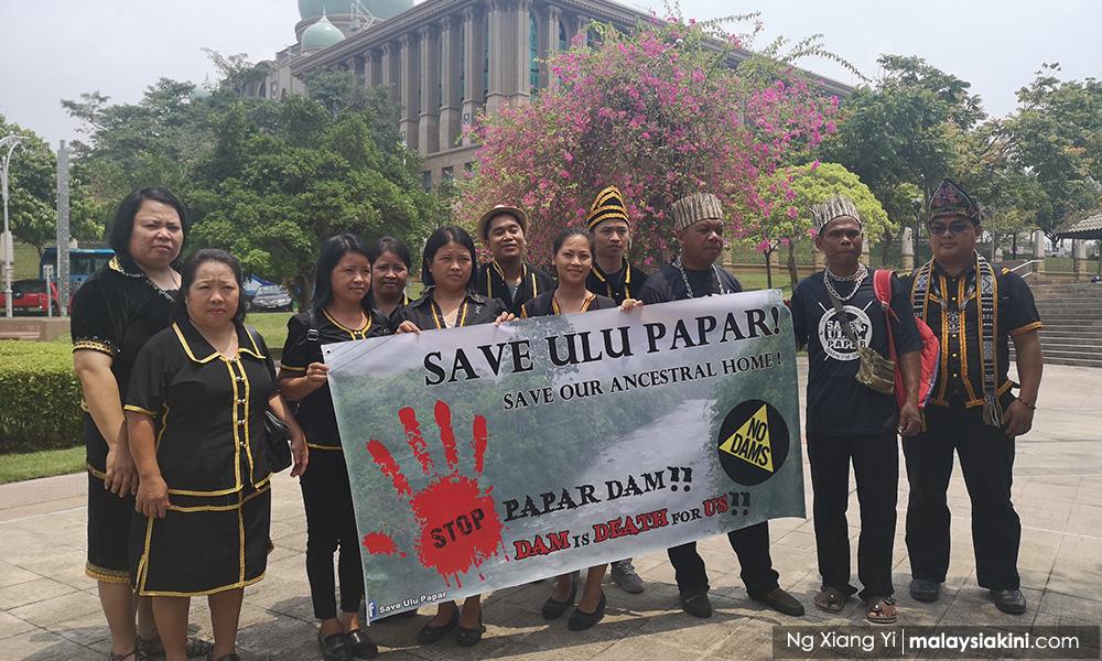 Sabah natives bring fight against dam project to Putrajaya