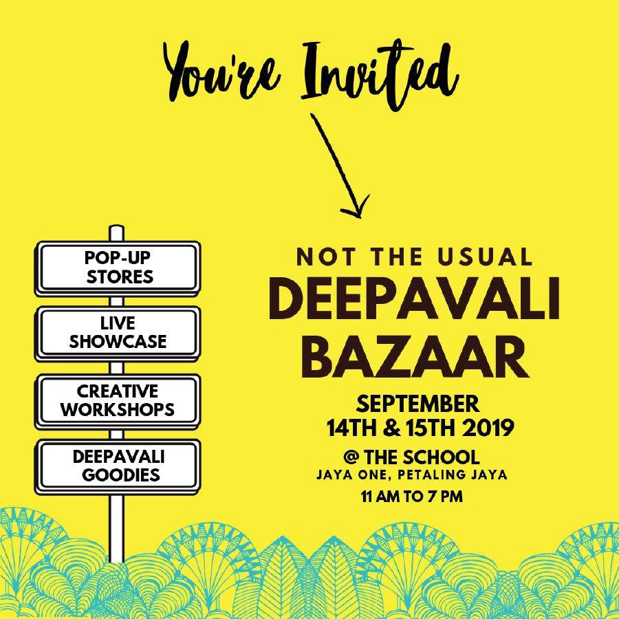 Not your usual Deepavali bazaar at Jaya One