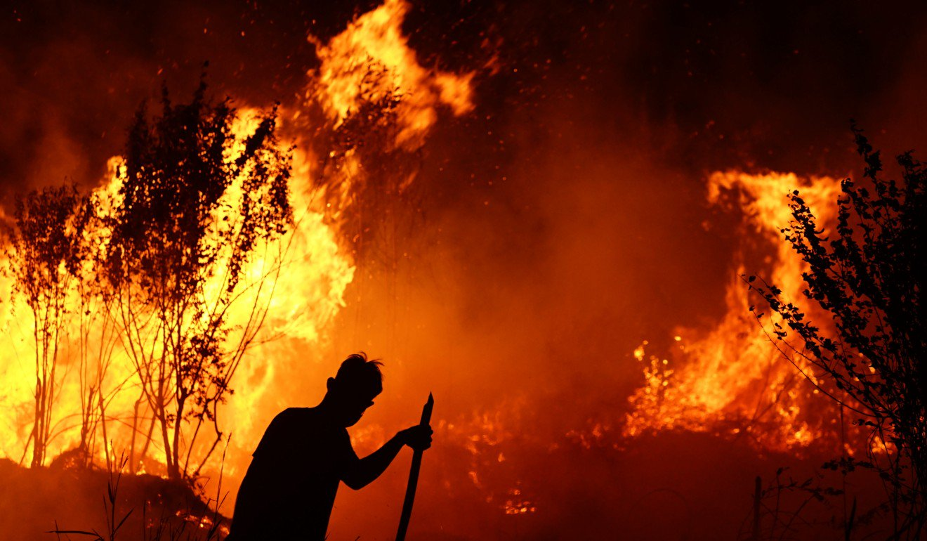 Malaysia mad at Indonesia over smog from massive forest fires