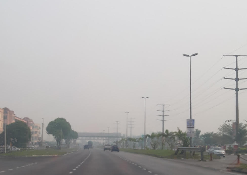 Haze situation improves, no areas with hazardous, very unhealthy air quality recorded as at 8am