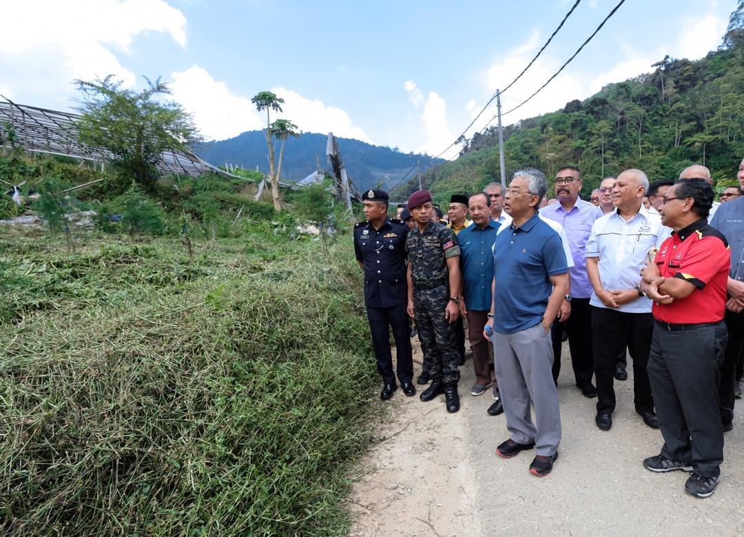 非法耕地污染河流 元首下令停止