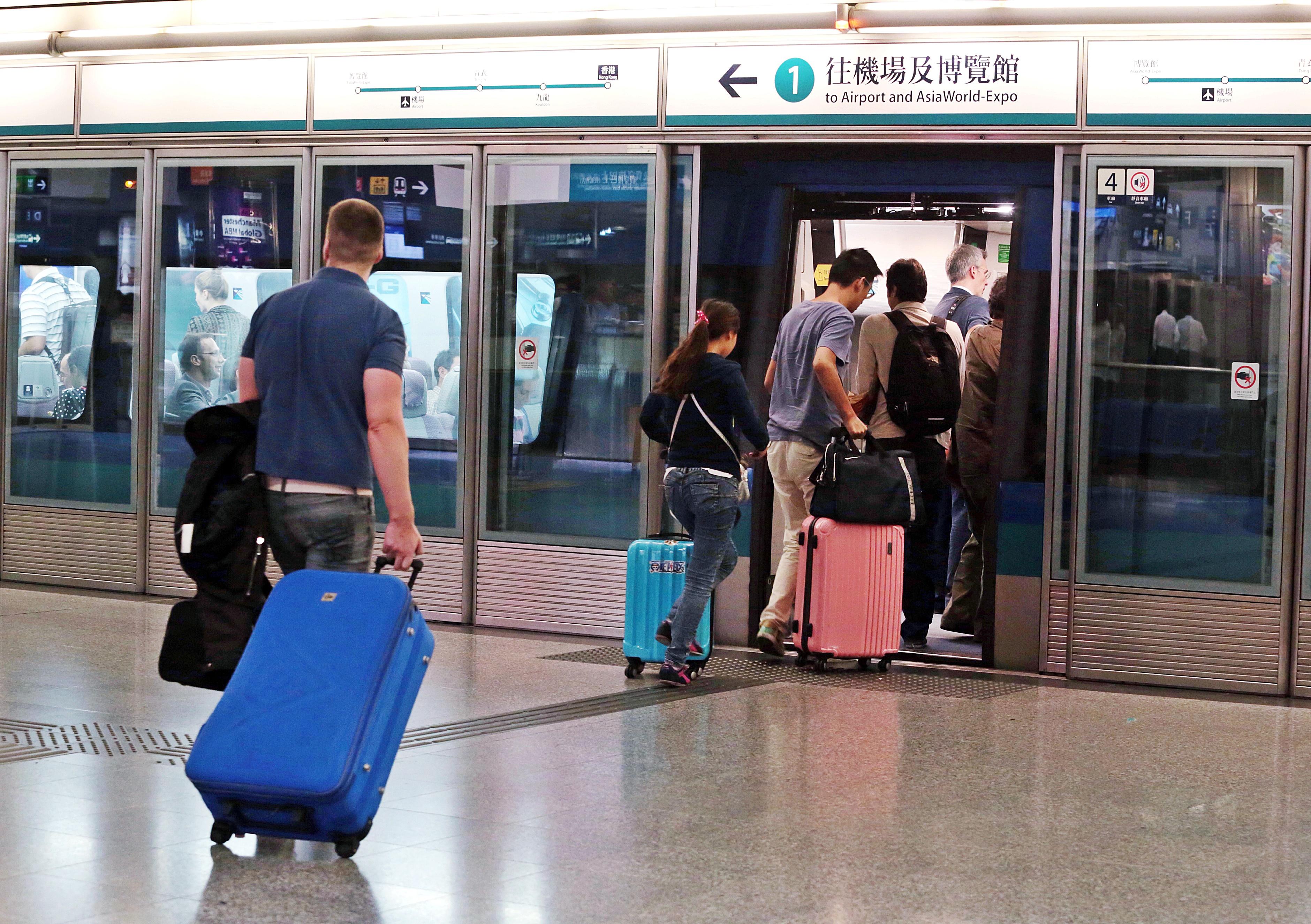 【修例风波】机场快缐明只停香港站及机场站 10分钟一班车