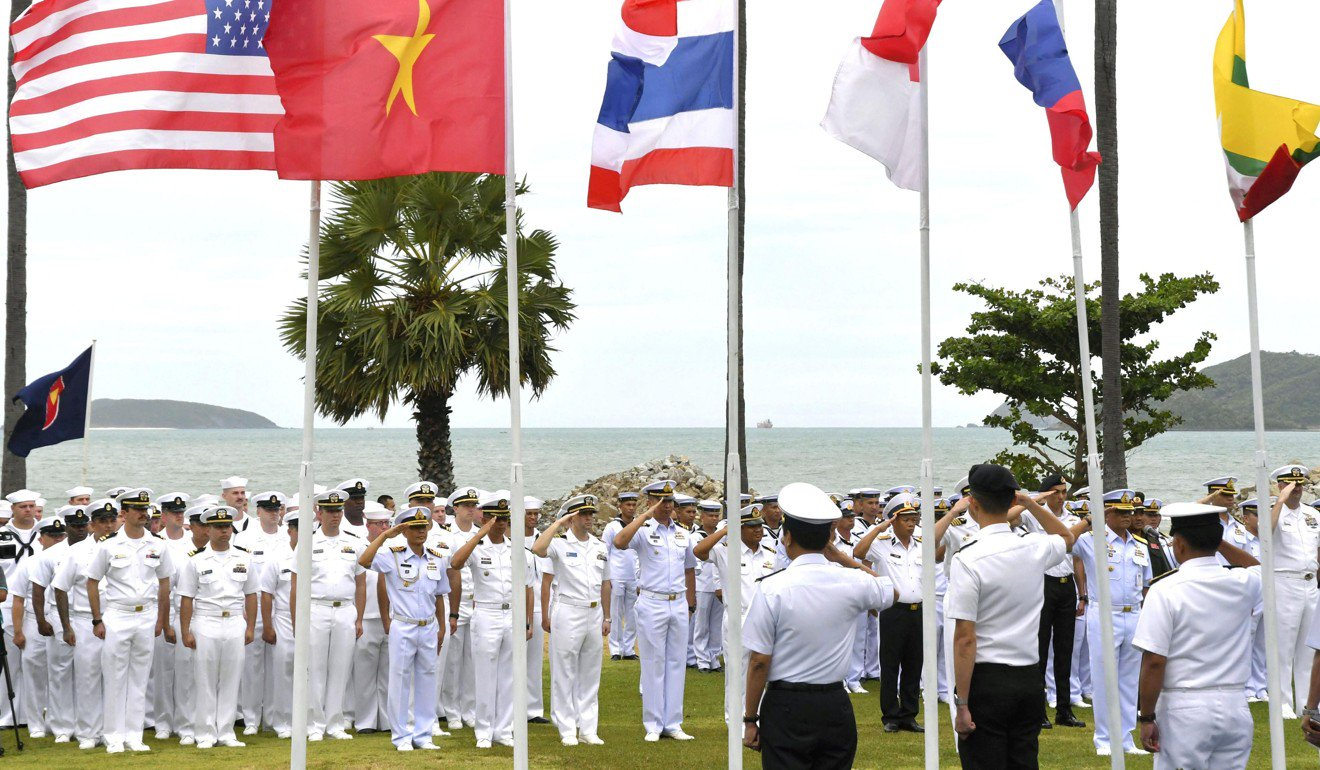 Asean steers between two powers with joint US military exercise in South China Sea