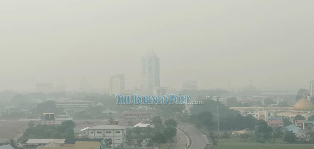 Sibu air quality deteriorates overnight as API jumps