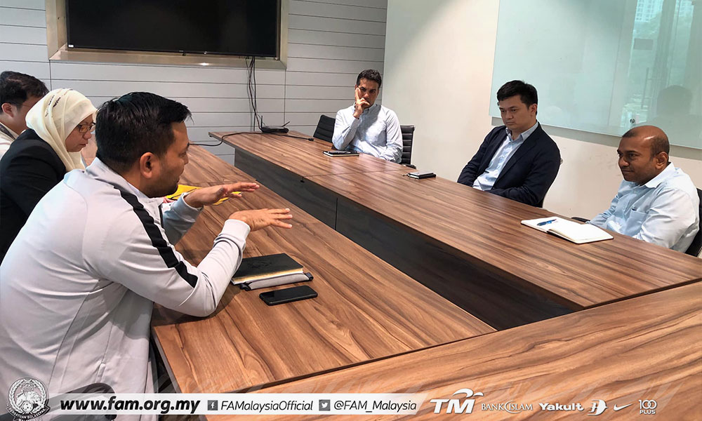 FAM meets AFC to lodge report with Fifa
