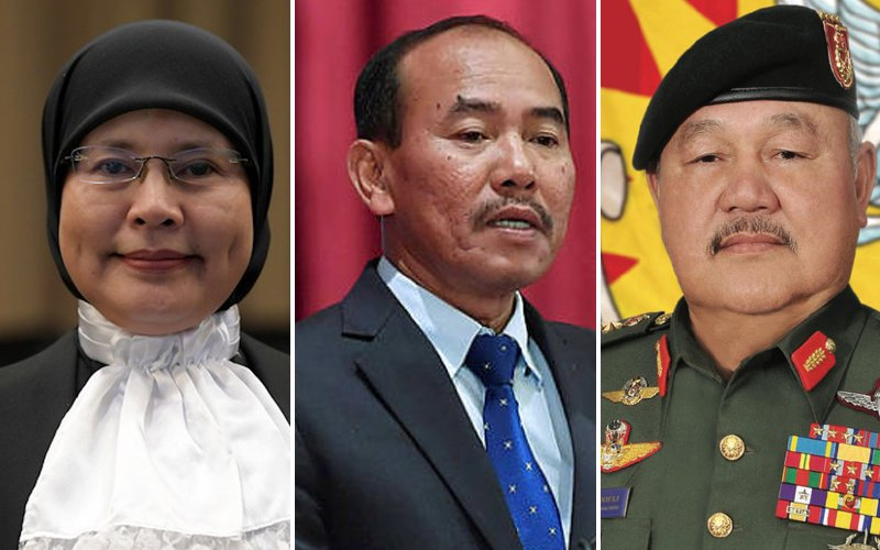 'Tan Sri' for heads of judiciary, civil service and armed forces