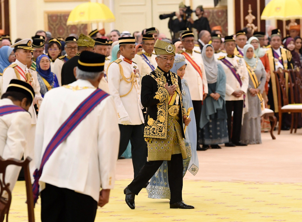 CJ, AG Tommy Thomas, IGP among those awarded 'Tan Sri' in conjunction with Agong's birthday