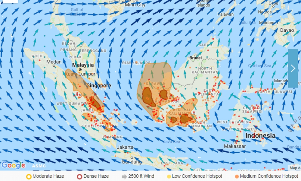 Haze is back, worse than ever, and expected to last the whole month