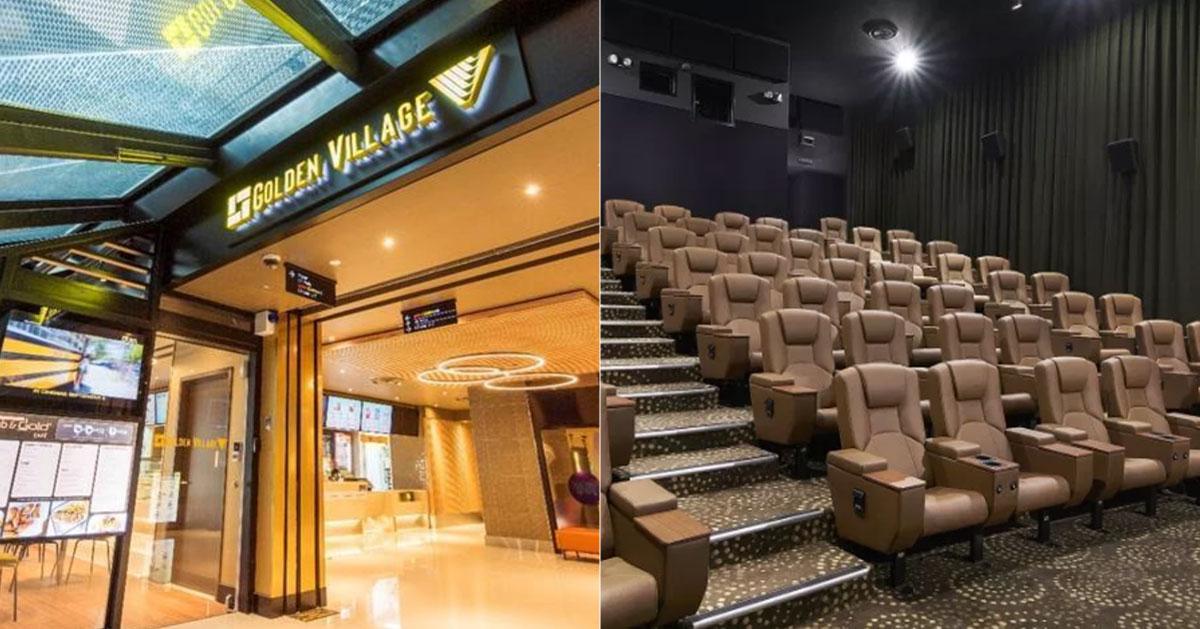 Golden Village premium movie tickets at S$12 each till Sept. 30, 2019