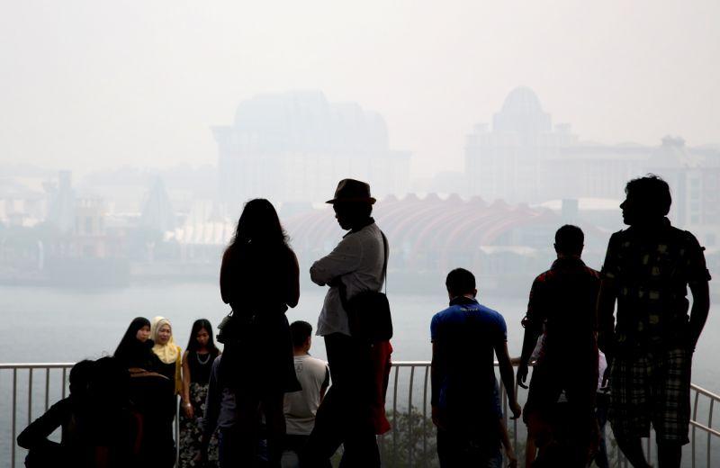 Haze may enter unhealthy range, more than 500 hotspots in Sumatra: NEA